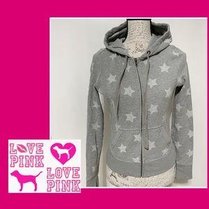 VS Gray zipped Hoodie jacket